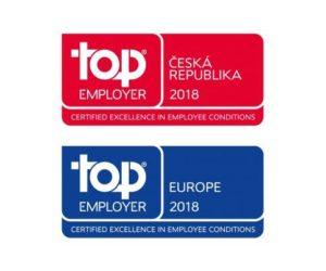 Valeo již potřetí obdrželo certifikát Top Employer Česká republika