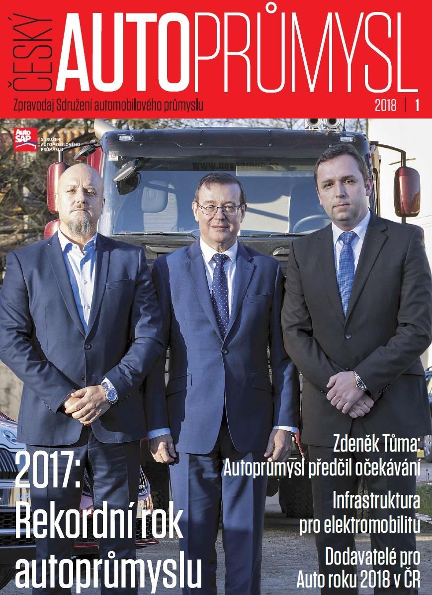 Zpravodaj Sdružení automobilového průmyslu 2018/1