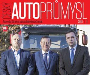 AutoSAP vydává Zpravodaj Český autoprůmysl 1/2018