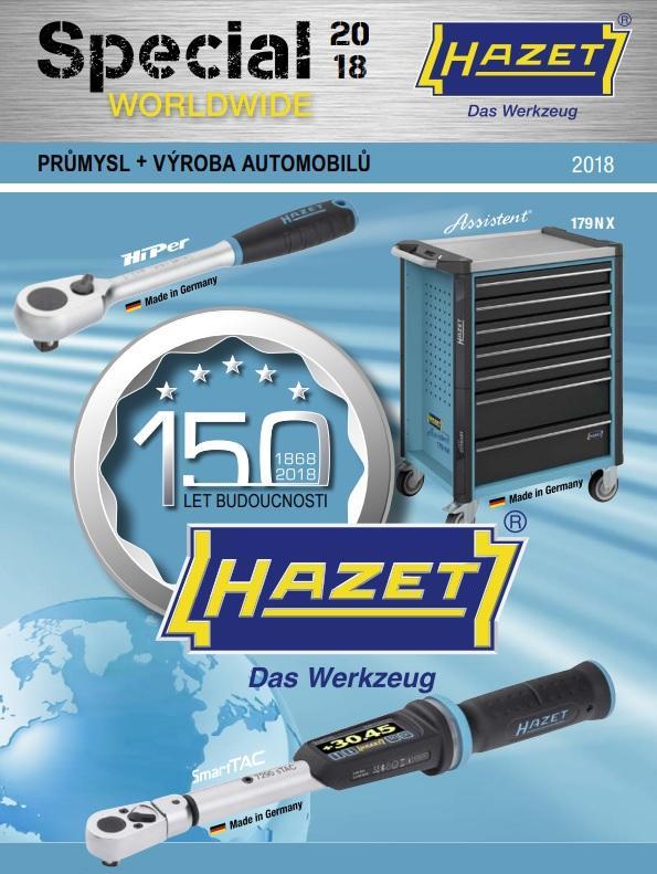 Katalog nářadí HAZET pro rok 2018 u Elitu
