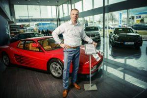 Petr Vaněček, provozní ředitel sítě autocenter AAA Auto