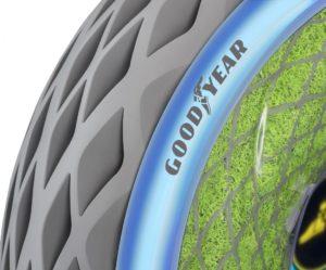 Goodyear odhaluje koncept pneumatik pro čistší a pohodlnější městskou dopravu - Oxygene