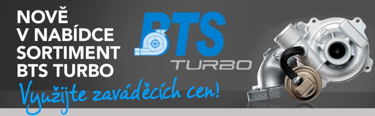 BTS Turbo nově u J+M autodíly