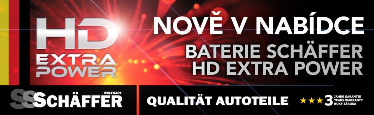 Baterie HD Extra Power nově u J+M autodíly