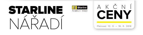 Starline nářadí za akční ceny u Auto Kelly