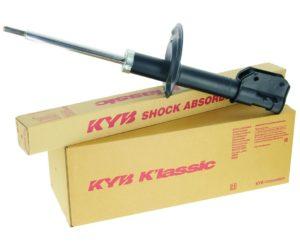 Nová řada tlumičů pro starší vozidla KYB K'lassic