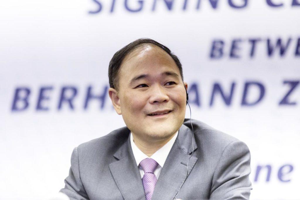 Li Shufu, zakladatel a ředitel Zhejiang Geely Holding Group