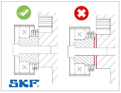 Montáž napínáku SKF VKM 15218 - krok 3