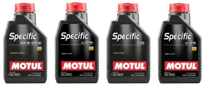 Novinky mezi oleji řady MOTUL Specific