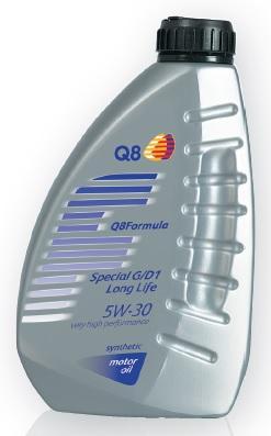 Motorový olej Q8 Formula Special D1 5W-30