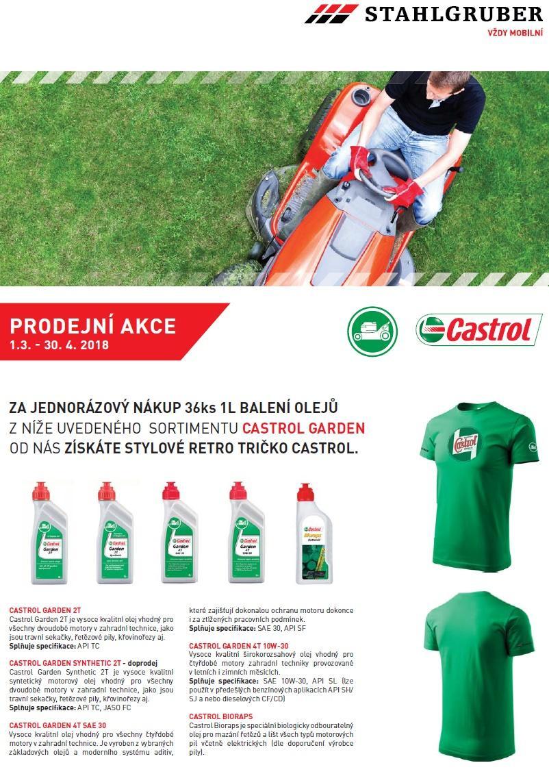 dea4fe6b01b K olejům Castrol Garden tričko GRÁTIS u STAHLGRUBERu - MotoFocus.cz