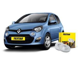 Brzdové kotouče Textar pro Renault Twingo