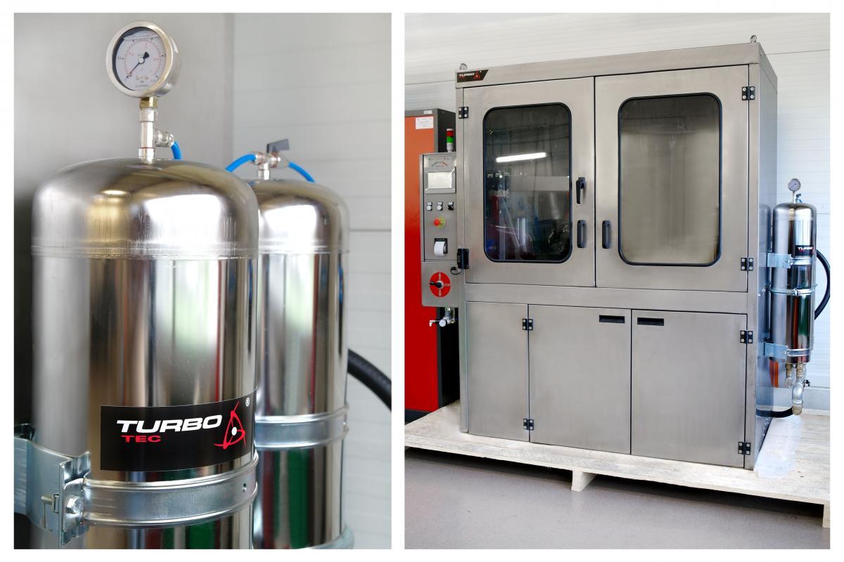 Čištění DPF chemickými aditivy a vodou u Turbo-Tecu