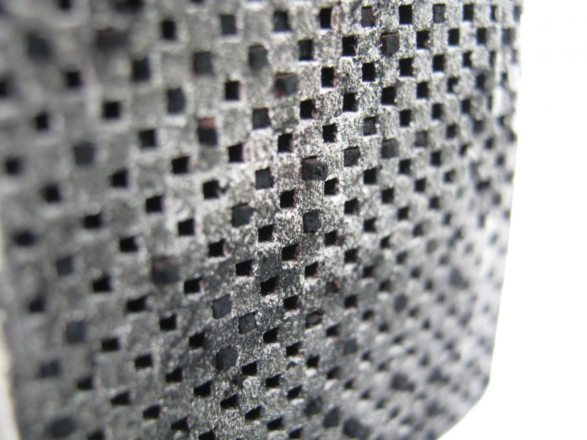 Detail filtru DPF