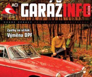 Automagazín Garáž Info 01/2018 od ACI