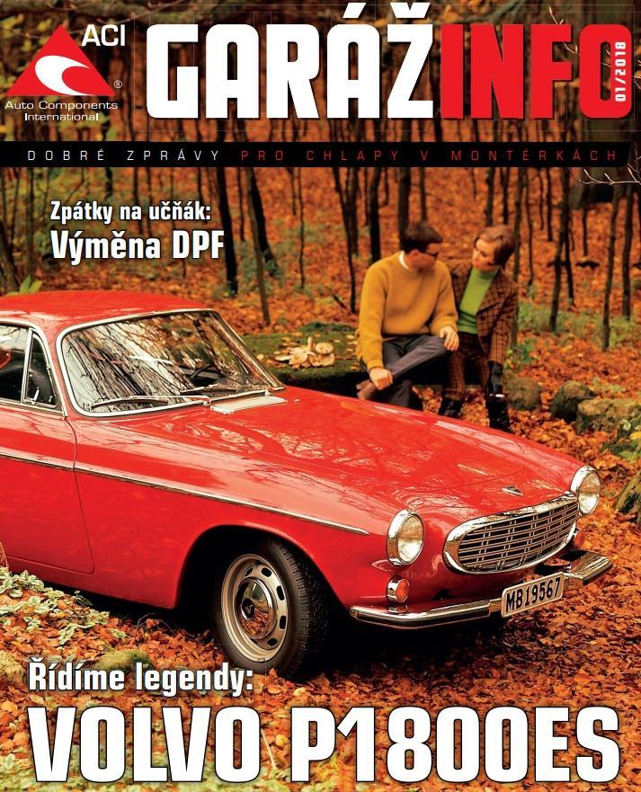 Magazín Garážinfo od ACI