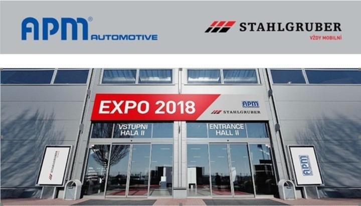 Veletrh dodavatelů APM Automotive a Stahlgruber CZ - EXPO2018