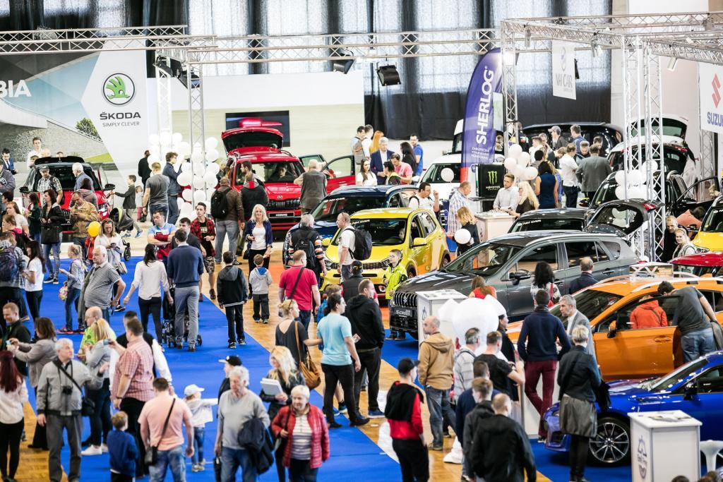 Návštěvníci Autoshow Praha 2018