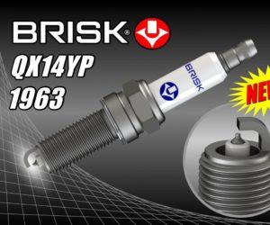BRISK zařadil do sortimentu svíčku QX14YP
