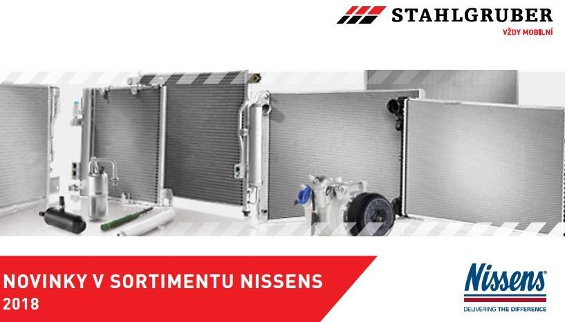 Novinky v sortimentu Nissens 2018 u Stahlgruberu