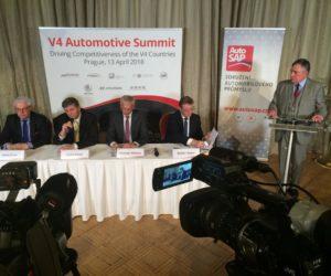 Summit V4 v Praze určil společnou politiku v oblasti emisí CO2 a čisté mobility