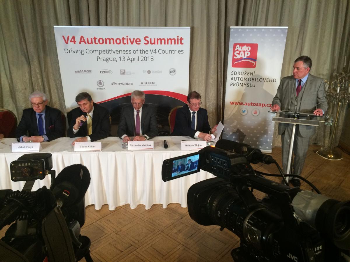 V4 Automotive Summit v Praze