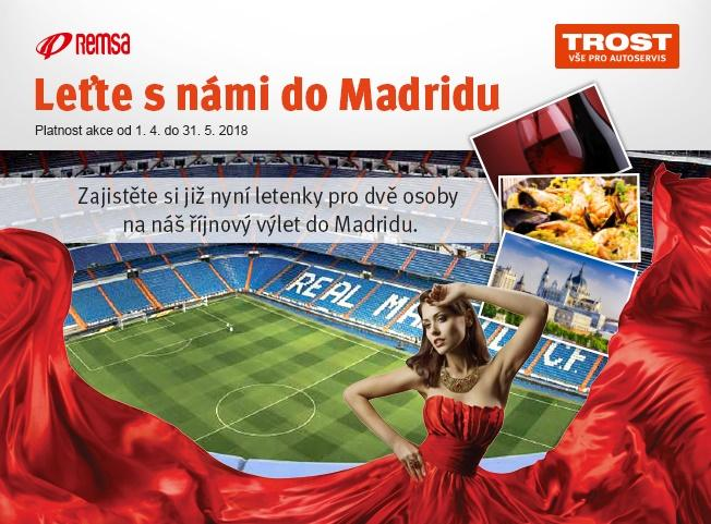 Leťte s Trostem do Madridu