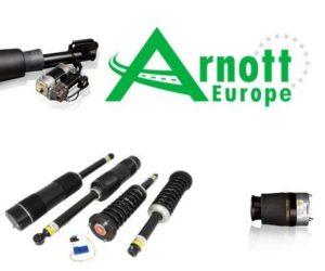 Vzduchové odpružení ARNOTT nově v nabídce TROST