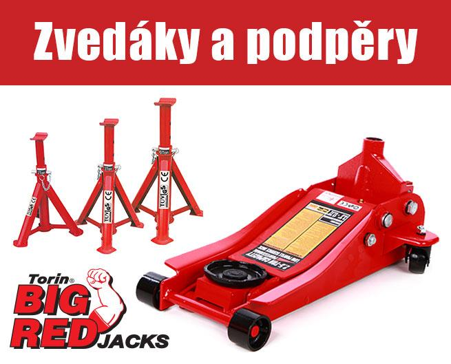 Zvedáky a podpěry Torin BIG RED Jacks u AHProfi