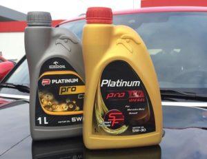 Benzina přichází s novou řadou olejů Platinum