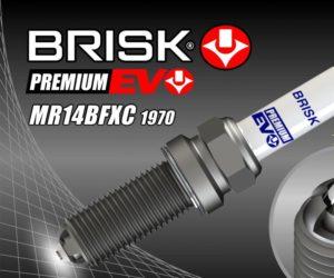 BRISK zařadil do sortimentu svíčky Premium EVO s označením MR14BFXC