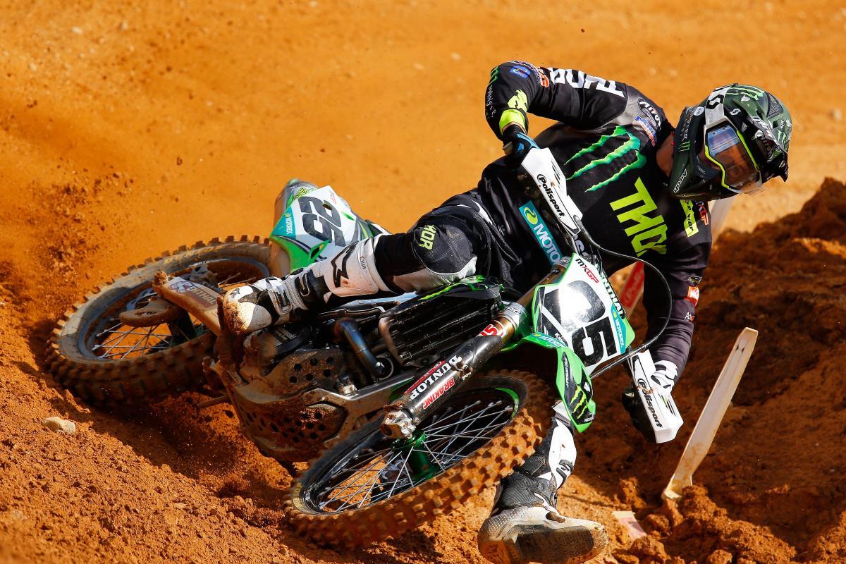 Clement Desalle s Kawasaki na pneumatikách Dunlop