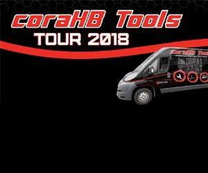 ROADSHOW nářadí, garážového vybavení, servisní techniky a diagnostiky – to je coraHB Tools Tour 2018