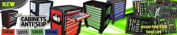 Montážní vozíky JBM u TECHNOLOGY - GARAGE