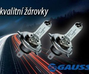 Autožárovky Gauss nově v sortimentu Elán car