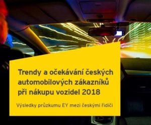 Trendy a očekávání českých automobilových zákazníků při nákupu vozidel 2018