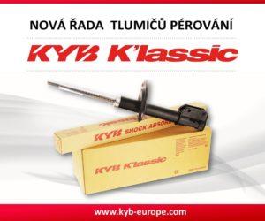 Nová řada tlumičů KYB K'lassic u Stahlgruberu