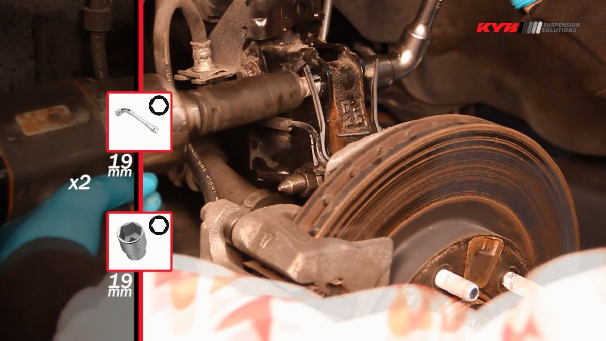 Výměna předních tlumičů Mitsubishi ASX 4