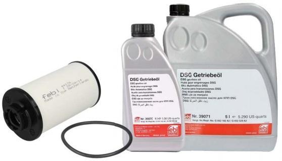 Olej a filtr Febi pro dvojspojkovou převodovku DSG