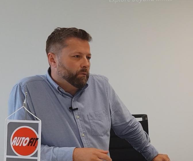 Michal Novák, marketingový a produktový ředitel firmy TROST