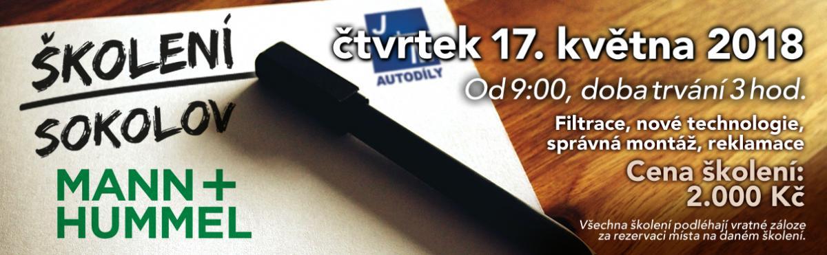 Školení na filtrace v Sokolově od J+M autodíly