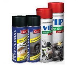 Rozšíření nabídky sprejů CARFIT a VIP