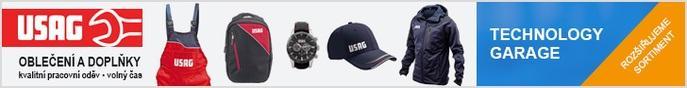 Oblečení a doplňky USAG u Technology-Garage