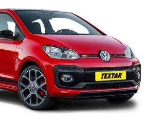 Brzdové destičky pro nový Volkswagen Up GTI od Textaru
