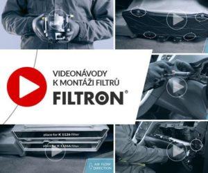 FILTRON radí: videonávody k montáži filtrů