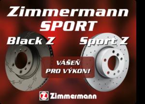 Sportovní kotouče Zimmermann nově u AD Partner