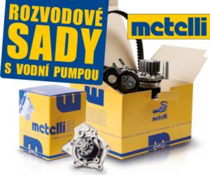 Rozvodové sady s vodní pumpou Metelli nově u AD Partner