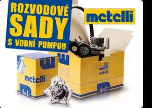 Rozvodové sady s vodní pumpou Metelli u AD Partner
