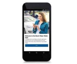 Najděte správný stěrač Bosch, online a mobilně
