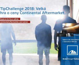 TipChallenge 2018: Velká hra o ceny s Continental Aftermarket